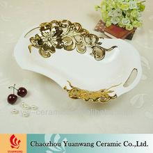 Wholesaler Ceramic Fruit Tray Design