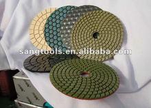 high performance dry diamond polishing pads,hand polishing pad