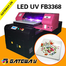 UV print on 3d surface ceramic tiles decal printing machine marble printer/color coasters inkjet printer Gateway fb3368
