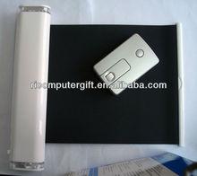 USB HUB retractable mouse pad