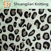 100% Polyester Leopard Printed Super Soft Fleece fabric