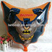 cartoon character batman foil balloon