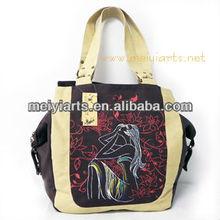 2013 Fashion canvas shoulder bag women style B237