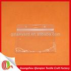 Waterproof horizontal PVC ID card holder