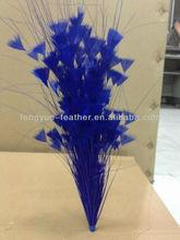Factory wholesale cheap party decorative dance supplies bleach dye colours millinery feather mount feather flower fascinator