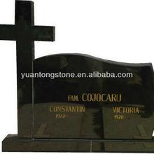black tombstone; Russia style tombstone; gravestone