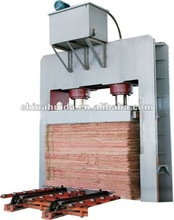 plywood cold press machine/veneer pre-press machine
