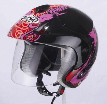 cheaper half helmet D009