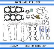 Engine Gasket full set for MAZDA HD 929 OEM NO. <8DHW-10-271>