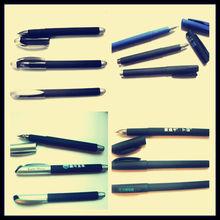 Cheapest novel design promotional black pen