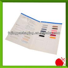 Half fold matt product sample brochure printing