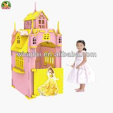 EVA household castle house building for children
