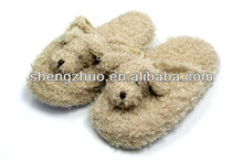 Plush Cute little puppies and comfy slippers with anti-slip soles for toddlers feet
