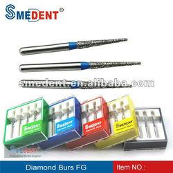 Dental diamond burs TR series