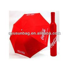 Wholesale Advertising Wine Bottle Shape Umbrella