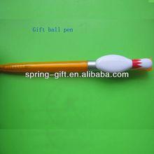Fashion gift bowling pin ball point pen