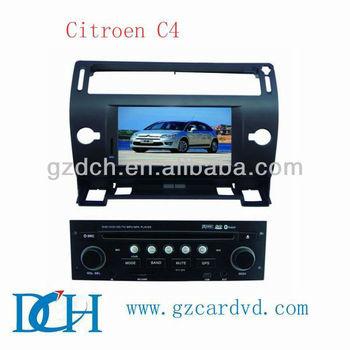 caska car dvd player for Citroen C4 WS-9428