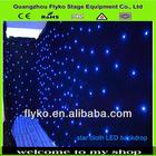 indoor led dressing room light led star cloth curtain