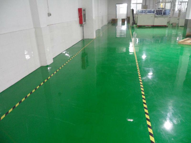 Epoxy floor coating paint concrete foor