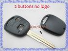 remote key blanks custom toyota car key case 2 buttons toy41 blade no logo