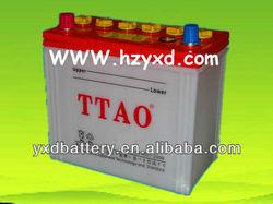automotive car 12 volta batteries dry