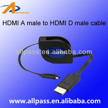 HDMI to Composite Video Cable 1.4 with Ethernet Support 1080P &3D