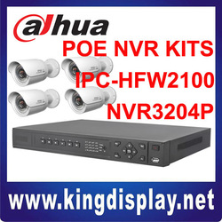 hot sale dahua network video recorder mini ir ip camera kits home use high definition