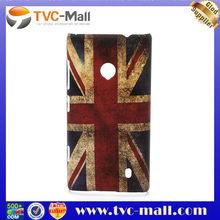 Vintage Union Jack Flag Hard Case Accessories for Nokia Lumia 520