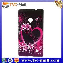 Heart Flower Plastic Case for Nokia Lumia 520 Accessories