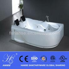 New design onyx tub surround/2 person indoor sex bath tub HS-B266