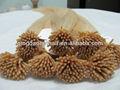 venta al por mayor aaaaa virgen queratina punta i brasileña extensión del pelo