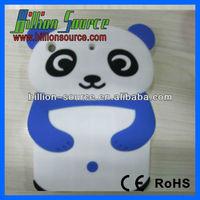 3D PANDA Soft SILICONE COVER CASE For Apple iPad Mini Accessory
