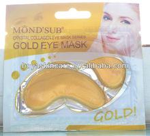 24k gold collagen crystal eye mask