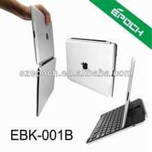 2013 hot Ultra thin aluminumslide wireless bluetooth keyboard case for ipad 234