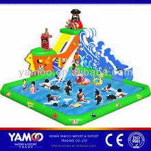 Children games! pirate ship children slides/inflatable slide sale for the pool
