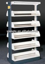 heavy duty full steel book cabinet, metal bookshelf, library furniture design