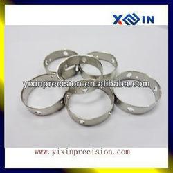 Aluminum cnc turned ring/spacer, OEM cnc precision metal turning parts