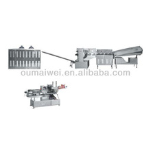 ball shape lollipop forming machine and head twist packing line