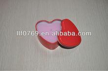 heart shaped packaging pill box