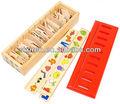 material montessori juguetes de ayudar a los niños educativos sensoriales