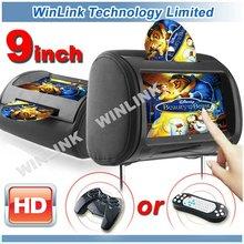 9 Inch HD Touch Screen Car DVD Headrest Monitor