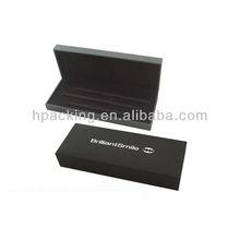 Elegant 3 pens contained pen box, logo printing gift box