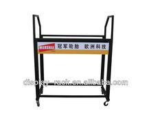 Metallo 2013 scaffalature garage per pneumatici usati rack hsx- 1125