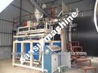 steel reinforce 300-3000mm PE sewage pipe equipment