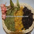 de calidad superior sin semillas de color marrón con pasas de uva en seco de la cosecha de uva 2012