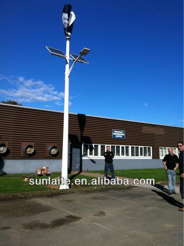 wind solar hybrid LED street lighting,vertical wind turbine,wind generator