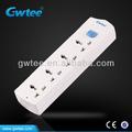 Americana 4 maneiras tomada elétrica 110v extensão socket gt-6112