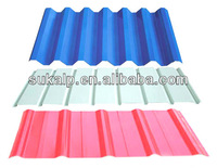 Colored corrugated Galvanized Sheet for roof/wall