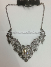the trend of decoration resin alloy necklace
