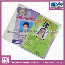 photo school student pvc id card maker